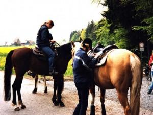 Trailritt im Welzheimer Wald 2004